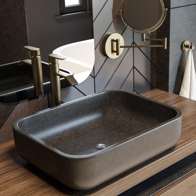 Moda na złoto i czerń, czyli łazienka w zgodzie z panującymi trendami!